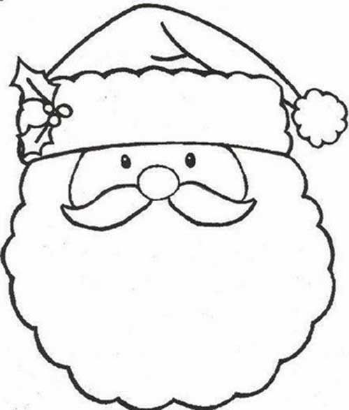 30 Desenhos Infantis Do Papai Noel Para Colorir Papai Noel Para