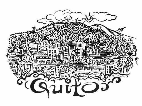 ciudad Quito  Planos Quito  Pinterest  Planos
