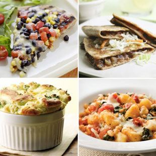 Here is a collection of 500-Calorie Vegetarian Dinners for you to choose from for dinner tonight! @EatingWell
