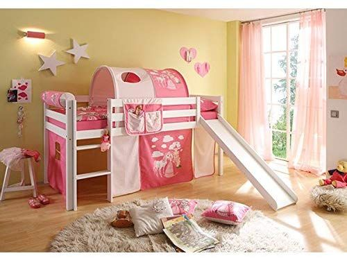 Elevated Children S Bed Solid Pine White Tuv En 747 1 747 2