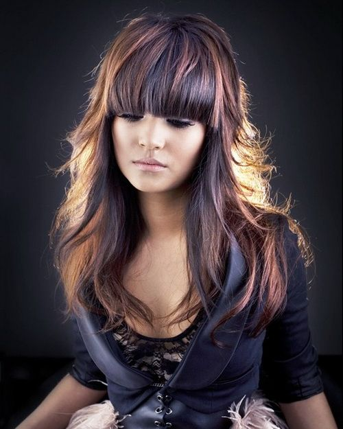 Stupendous 1000 Images About Bangs On Pinterest Fringes Blunt Bangs And Hairstyles For Men Maxibearus