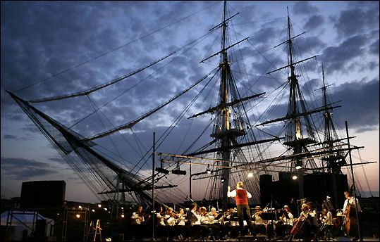 "uss constitution, also known as ""old ironsides,"