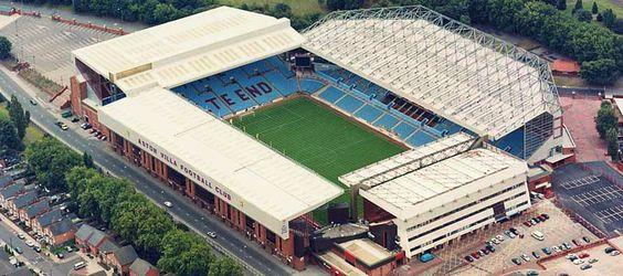 Aston Villa Villa Park Capacity: 42.788