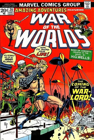 Cover for Amazing Adventures (Marvel, 1970 series) #20