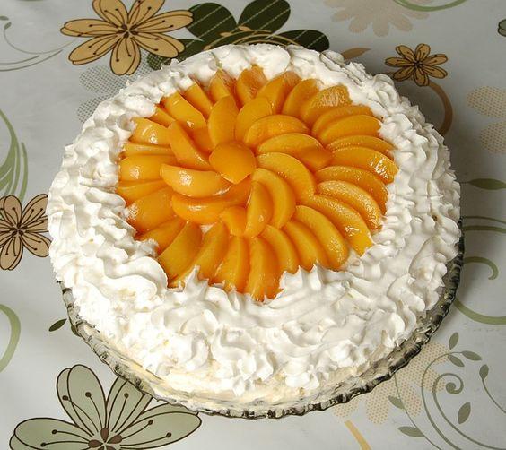tarta melocoton Melocotones, una fruta muy sana, sabrosa y versátil