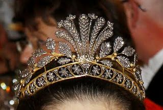 The Steel-Cut Tiara from Sweden