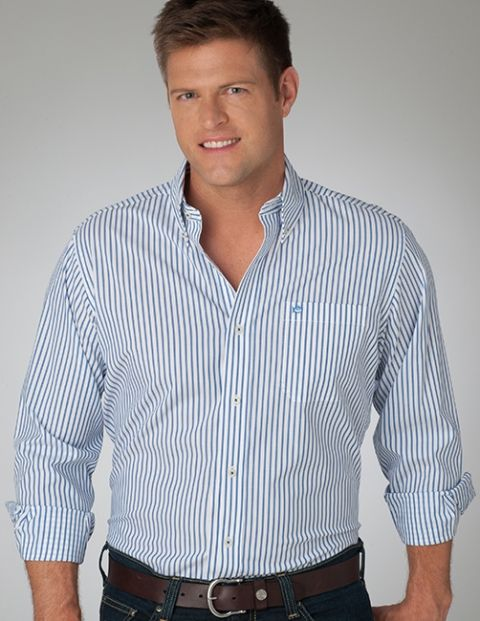 River Stripe Sport Shirt