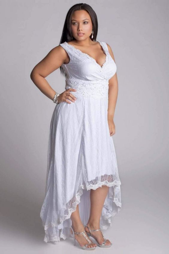 non traditional wedding dress for plus sizes google