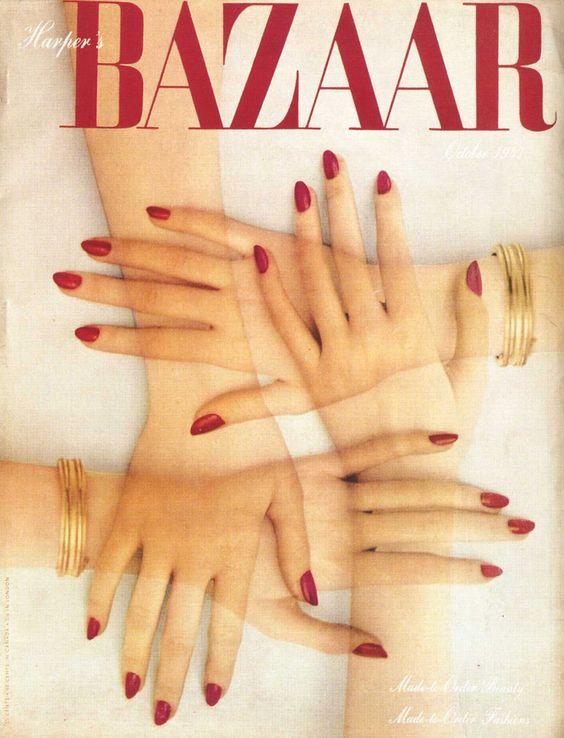 Harper's Bazaar Cover by Alexey Brodovitch