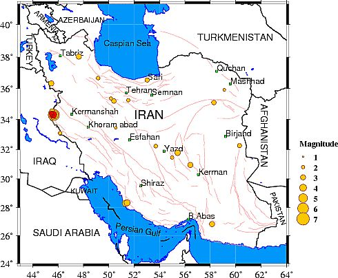 COINCIDENCE? 4 Earthquakes Hit Iran After Deal With Obama...