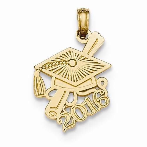 Graduation Gold Charms
