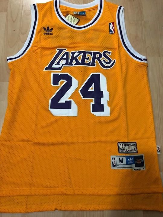 Men 24 Kobe Bryant Jersey Yellow Los Angeles Lakers Swingman Jersey Nba Jersey Los Angeles Lakers Nba Jersey Outfit