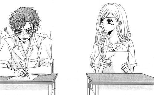 From otokonoko ni toriko manga: