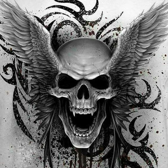 Skulls ☠ | Tattoos | Pinterest | Prepping, Skull design ...