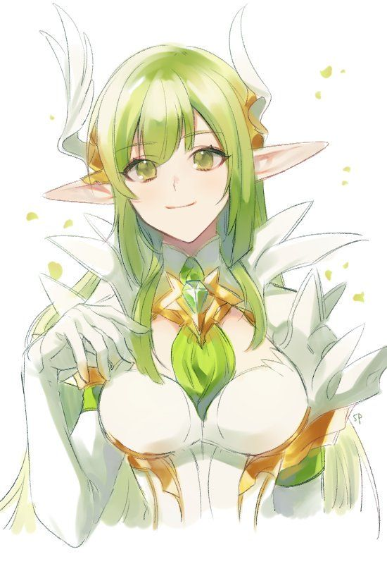 Pin By Yenny Ratna Sari On Elsword Anime Elf Anime Art Anime Fantasy
