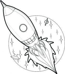 Okul Oncesi Uzay Araci Boyama Cizilecek Seyler Boyama Kitaplari