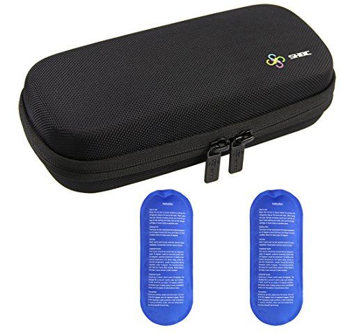 Shbc Insulin Cooler Travel Case For Diabetic Organize Medication