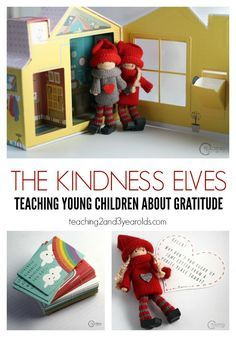 This Christmas we are using The Kindness Elves with our preschoolers to teach about gratitude and helping others.