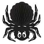 """Black Tissue Spider (measures 14"""" and includes one in a ack)"""