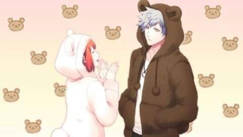 Ranmaru and Nanami as cute little bears ♥
