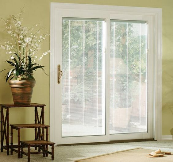 Sliding Glass Doors With Built In Blinds Door Designs