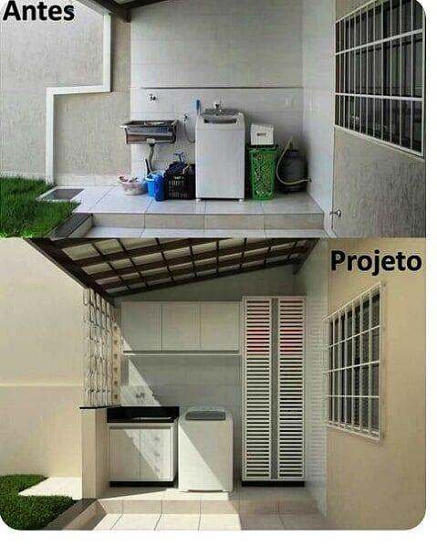Lavanderia externa simples