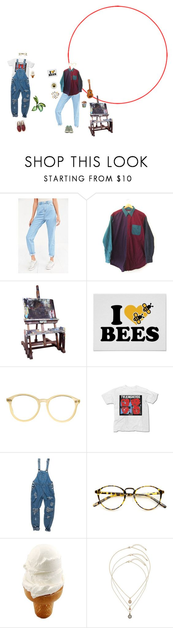 """""""Half baked"""" by tipsie ❤ liked on Polyvore featuring BDG, Woolrich, Converse, EASEL, American Apparel, INDIE HAIR and Topshop"""