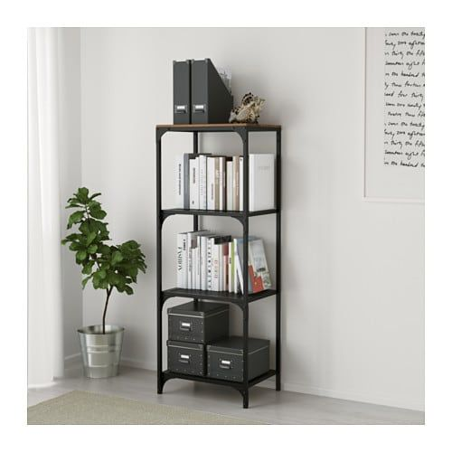 Fjallbo Shelf Unit Black 39 3 8x53 1 2 With Images Ikea
