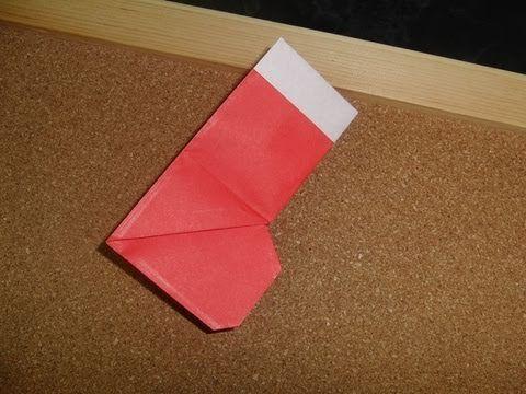 Como hacer una bota de Santa Claus