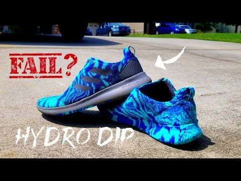 I Hydro Dipped My Shoes And Failed Hydro Dipping Hydro Shoes