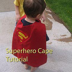 How to make a Superhero Cape!!!