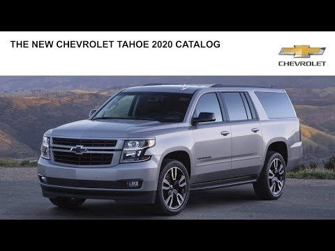 Chevrolet Tahoe 2020 Catalog Youtube