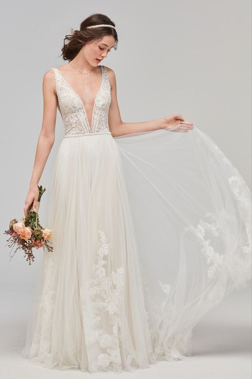 Nicole Miller Regina Bridal Gown Fj10024 Nicole Miller Wedding Dresses Minimal Wedding Dress Bridal Gowns