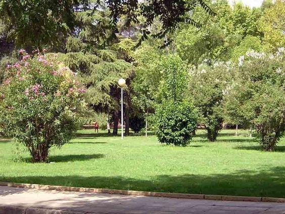 Circuito Parque Cruz Conde Cordoba : Jardines del parque cruz conde de córdoba
