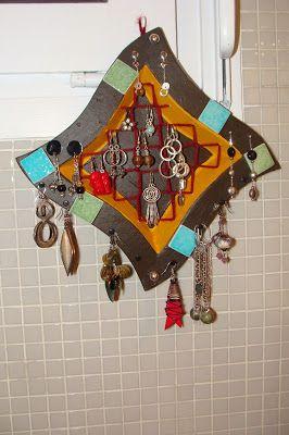 Porte bijoux boucle d 39 oreille and bijoux on pinterest - Porte bijoux boucle d oreille ...