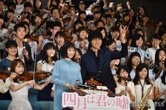 【山崎賢人/モデルプレス=9月6日】映画『四月は君の嘘』(9月10日公開)の公開直前イベントが6日、都内で行われ、W主演をつとめる広瀬すず、山崎賢人( ※「崎」は正式には「たつさき」)が出席。7日に22歳の誕生日を迎える山崎にサプライズイベントが行われた。