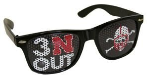 Nebraska Huskers Blackshirts sunglasses. 3 N Out