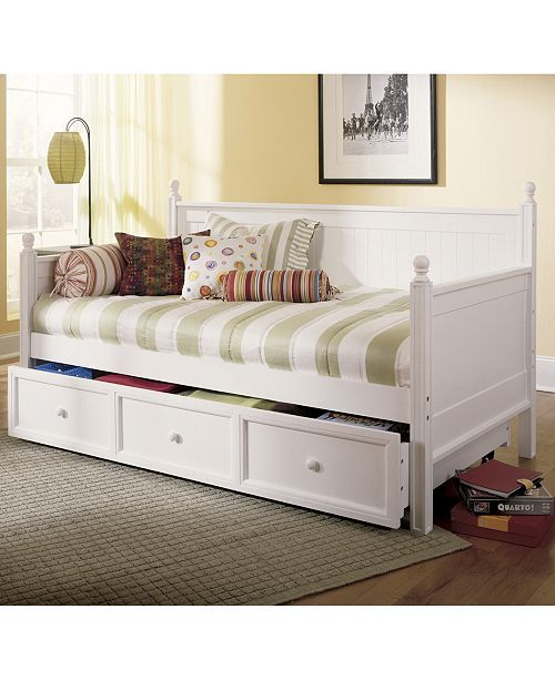 Pin By Christy Brown On Daybeds Daybed With Trundle White Daybed With Trundle Bed Styling White wood daybed with trundle