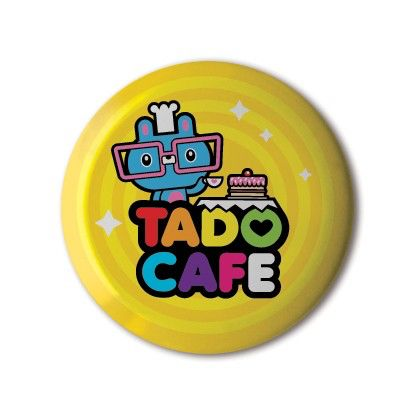 #BBOTD @stereohype #button #badge of the day by @wearetado https://www.stereohype.com/615__tado #tado #cafe