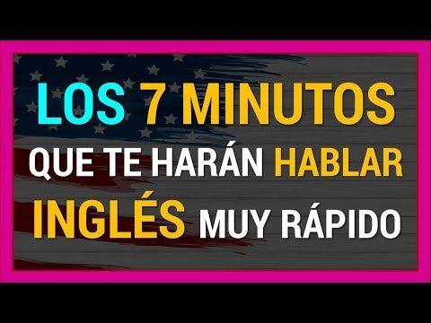 Practica Esto 7 Minutos Al Dia Y Hablaras Rapido En Ingles Funciona Curso De Ingles Gratis Youtube En 2020 Aprender Ingles Britanico Ingles Curso De Ingles