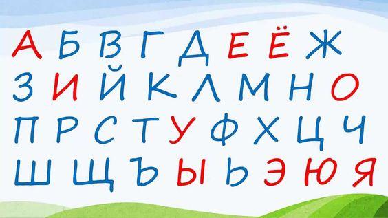 Russisch lernen: Russisches Alphabet