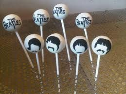 beatles cake pops - Google Search  This is Cool!!