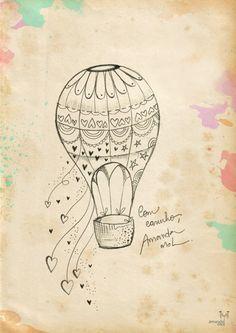 Ilustração Tatuagem | Composta - Amanda Mol | Loja
