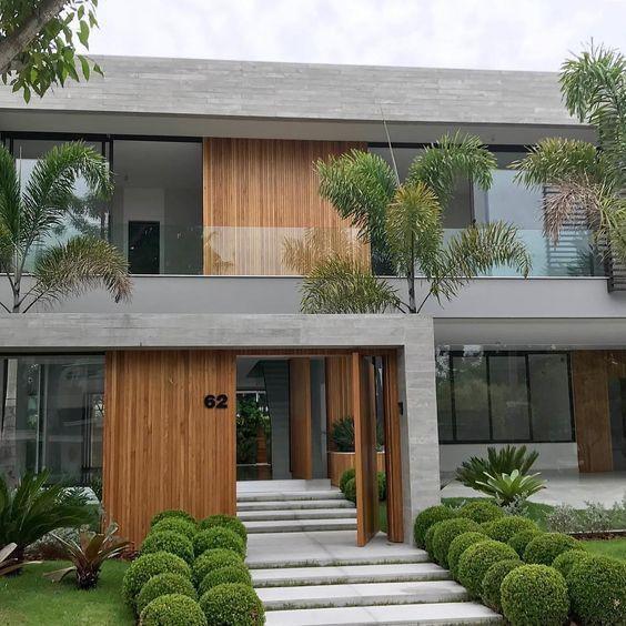 External Staircase 49 Ideas To Make Your Environment Complete Facade House Contemporary House Exterior House Front Design