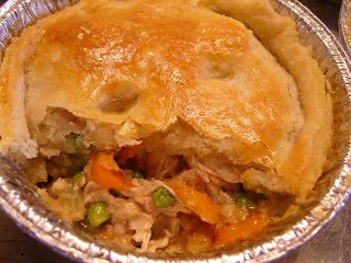 Chicken Pot Pie--Use leftover roast chicken to make this comforting classic.