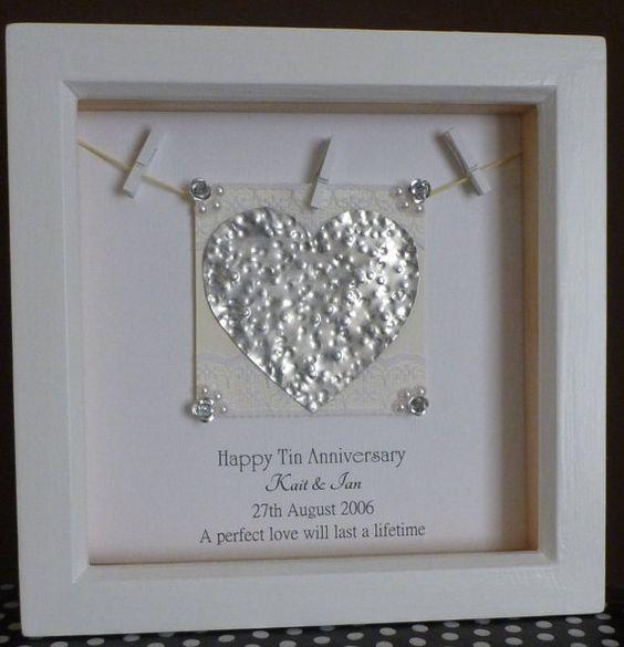 10th anniversary gift 10th wedding anniversary gift by TimeForGift