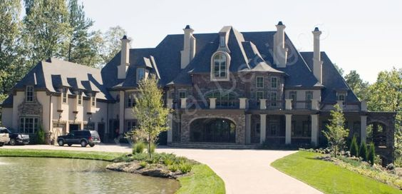 Corrineaux Estate House Plan Castle House House Plans How To Plan