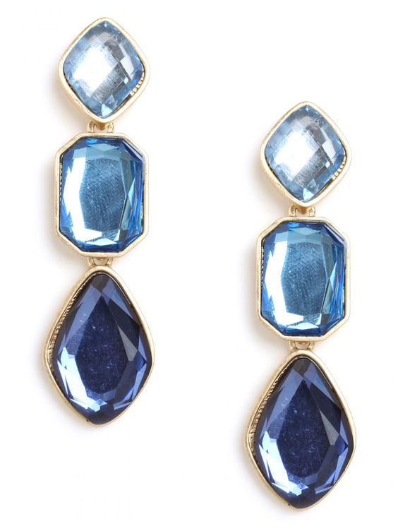 these pretty ombre earrings are sure to make a statement!
