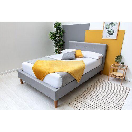 Fleur Upholstered Bed Frame Fjorde Co Size Double 4 6 In 2020