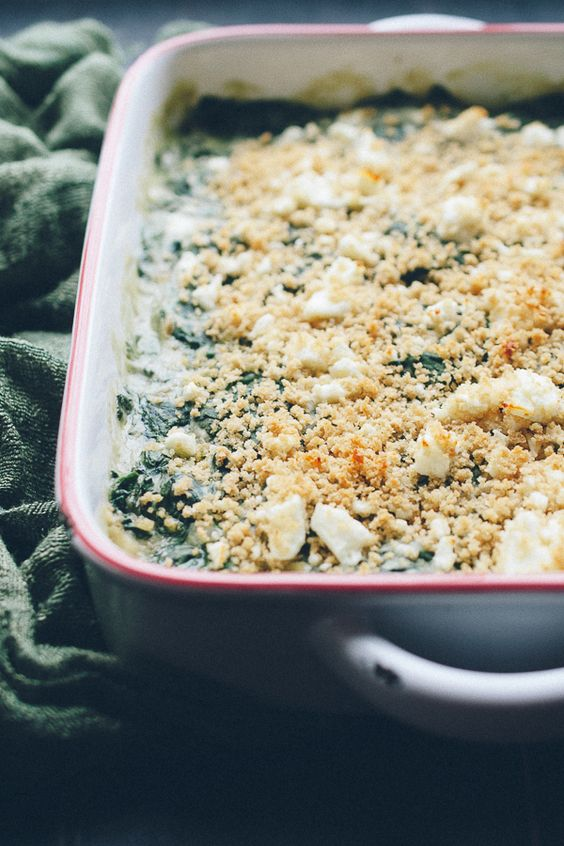 creamed spinach and more creamed spinach feta vegan options spinach ...